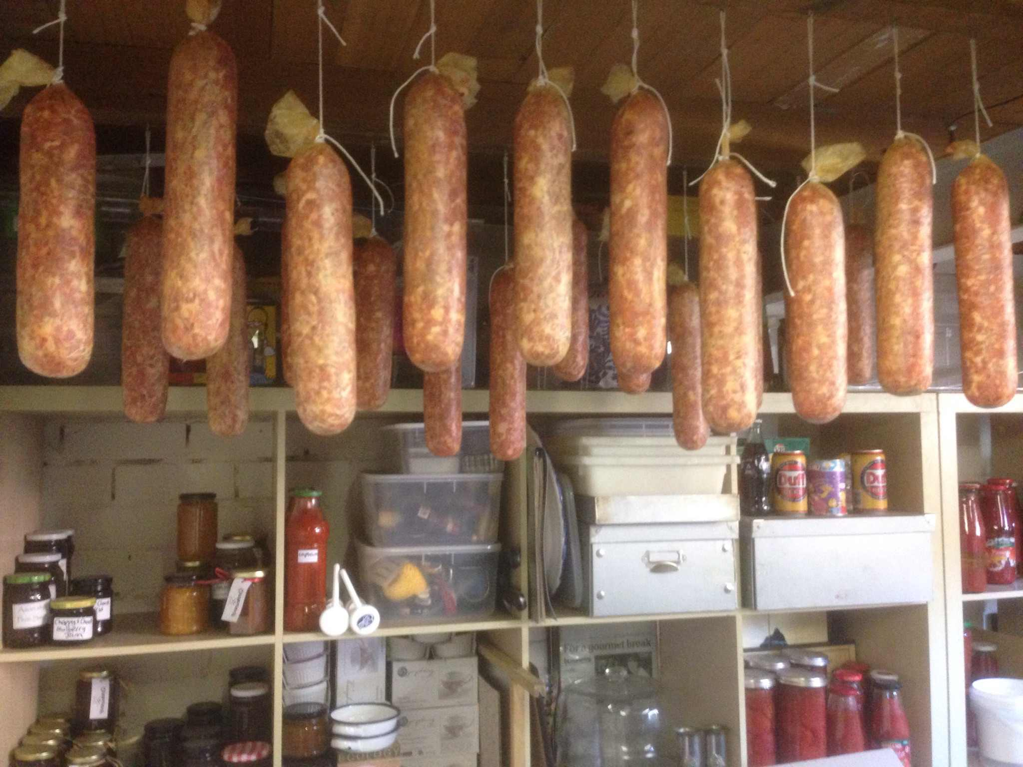 My Green Garden sausages and salami preserving workshops