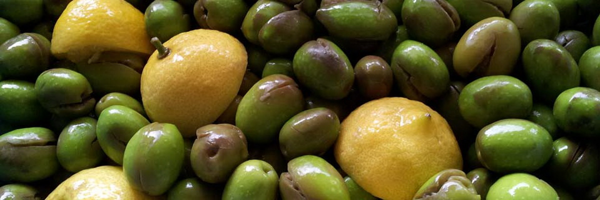 Olives curing and preserving workshops