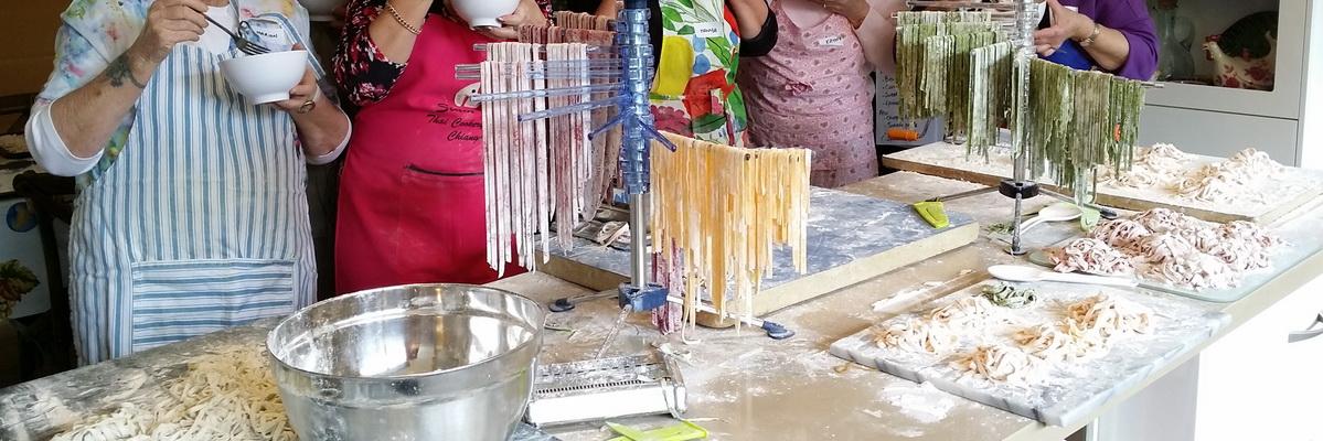 Artisan Pasta - Fettuccini workshops