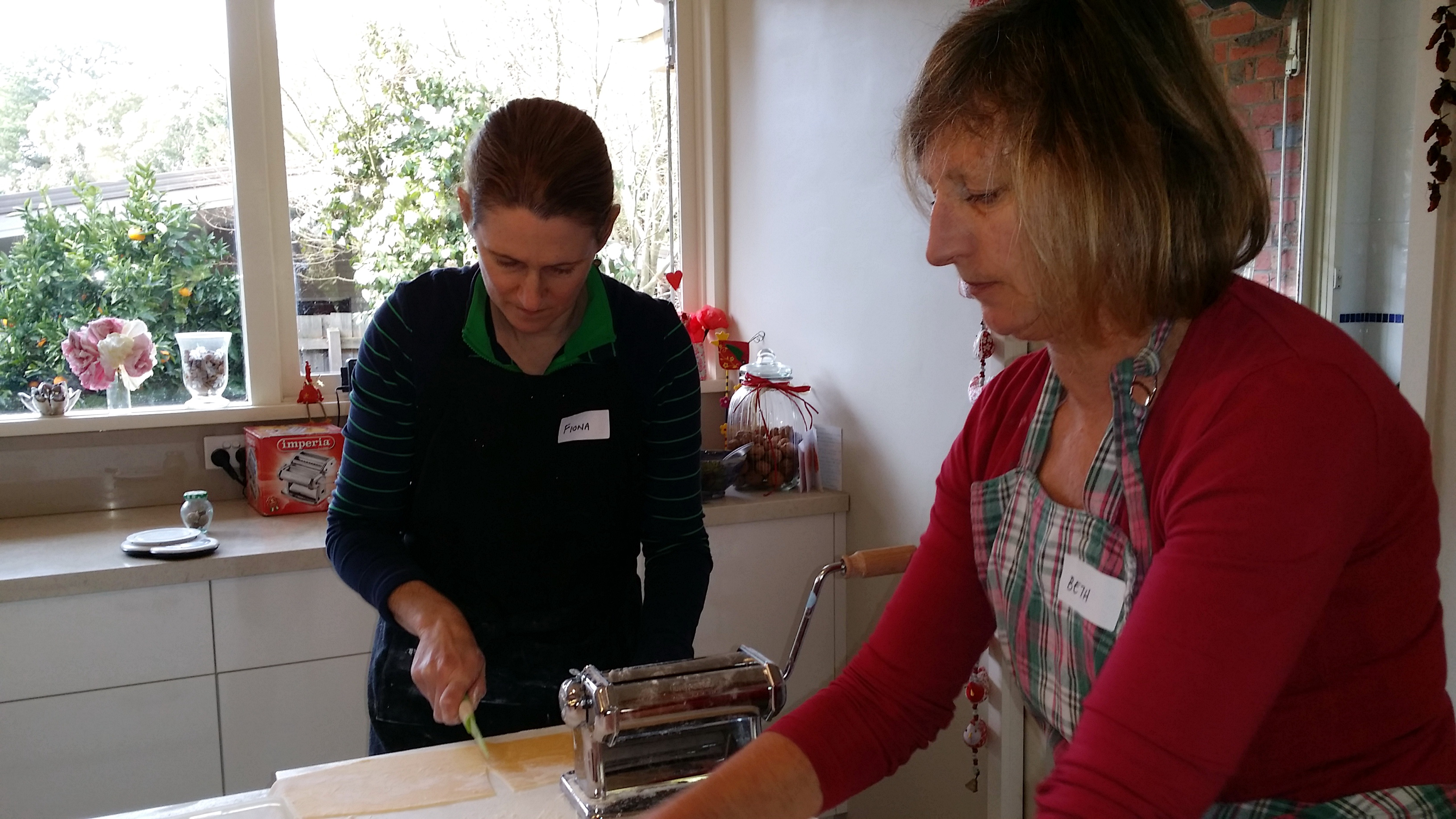 My Green Garden  Pasta workshop